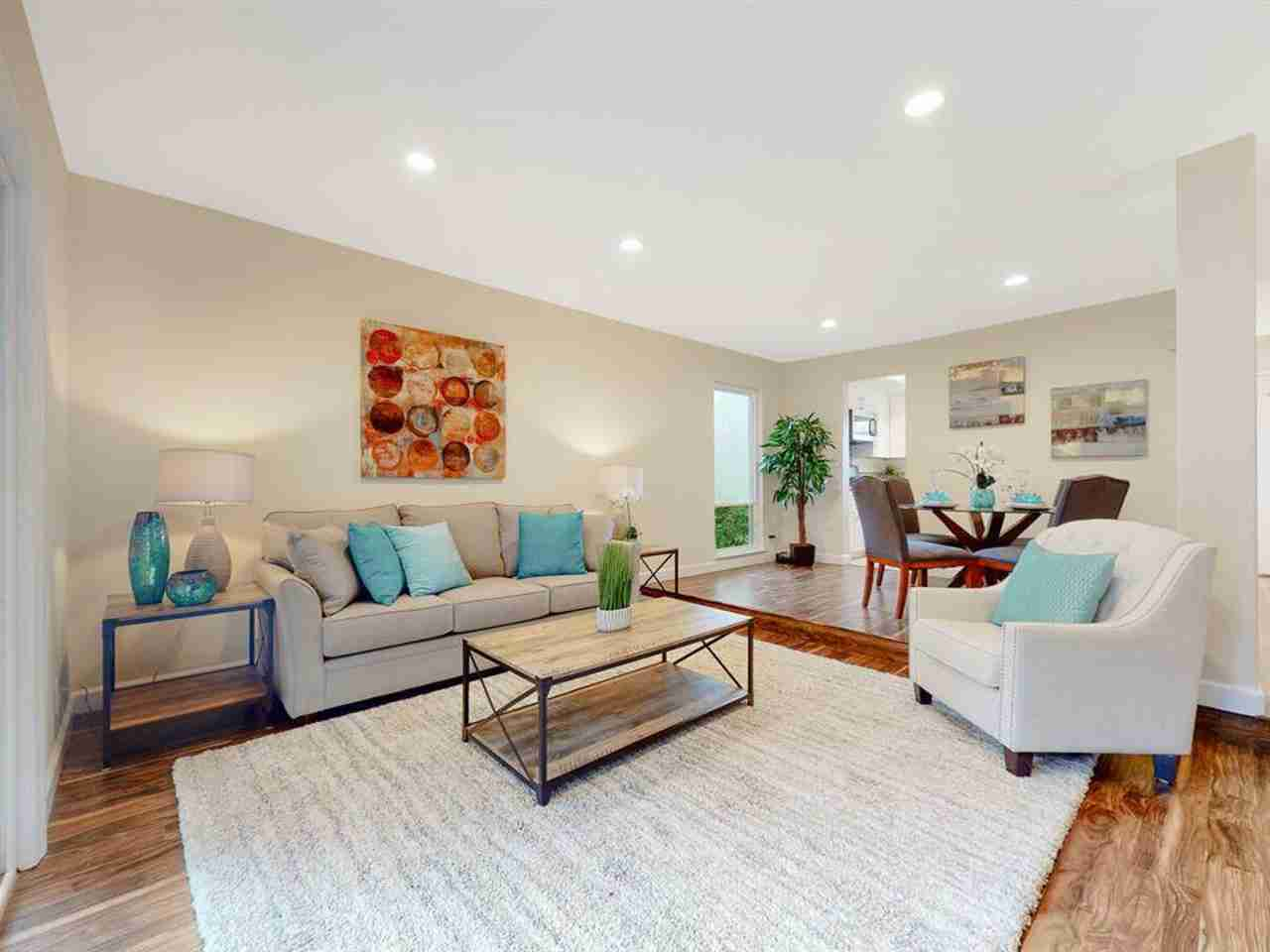 Sunny Living Room, 201 Flynn Ave #8 Mountain View, CA, 94043
