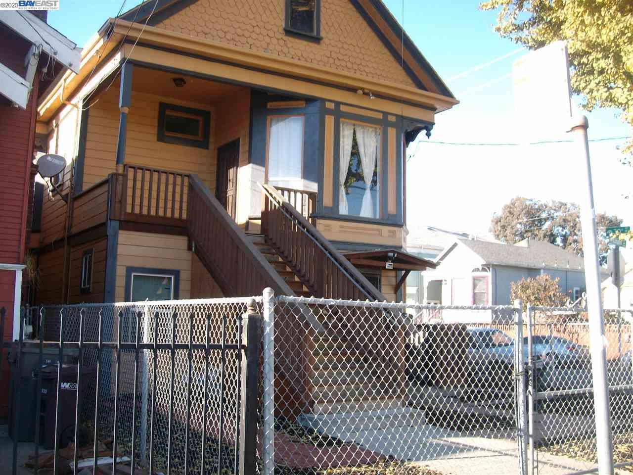 2933 North Linden St., Oakland, CA, 94608,