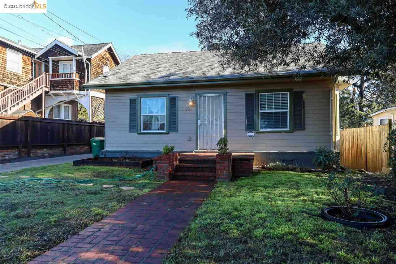 4048 Lyon Ave, Oakland, CA, 94601,