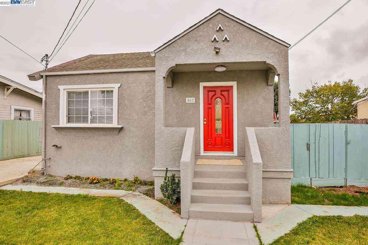 567 Dean St, Hayward, CA, 94541,