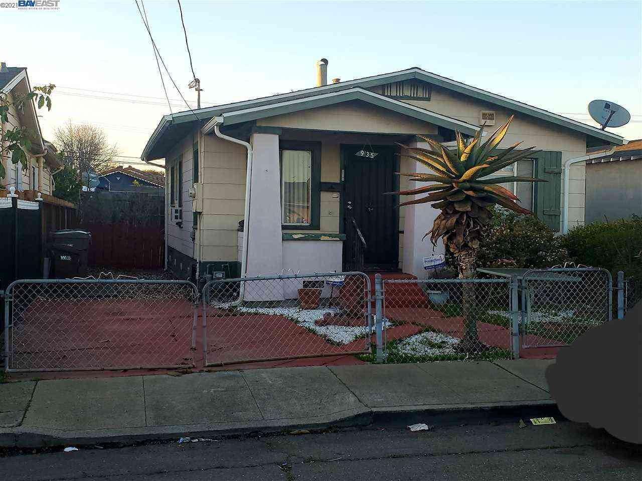 935 70Th Ave, Oakland, CA, 94621,