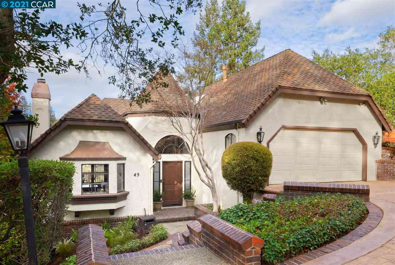 45 Via Farallon, Orinda, CA, 94563,