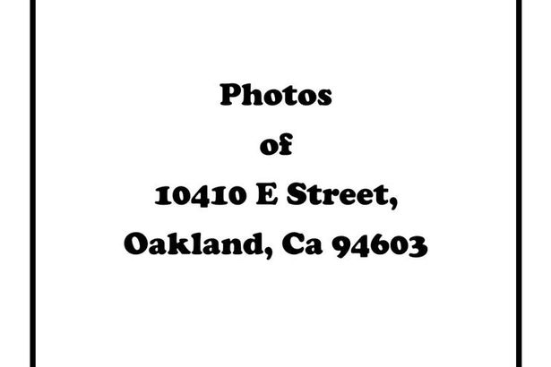 10400 E Street