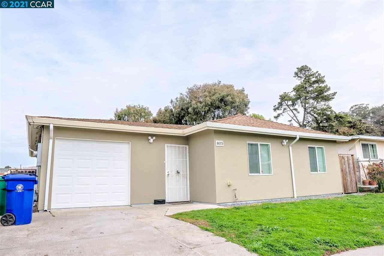 805 Banks Dr, Richmond, CA, 94806,
