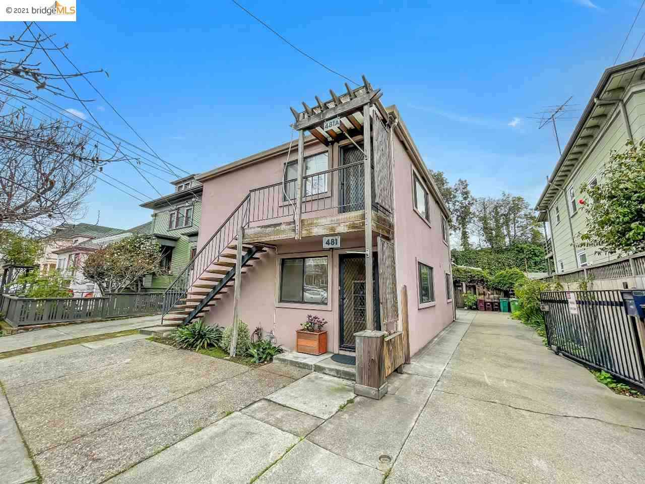 481 36Th St, Oakland, CA, 94609,