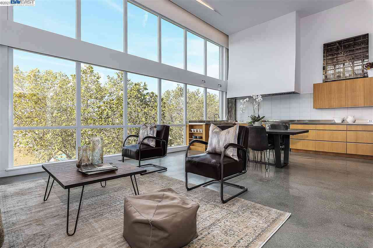 Sunny Living Room, 222 Broadway #312, Oakland, CA, 94607,