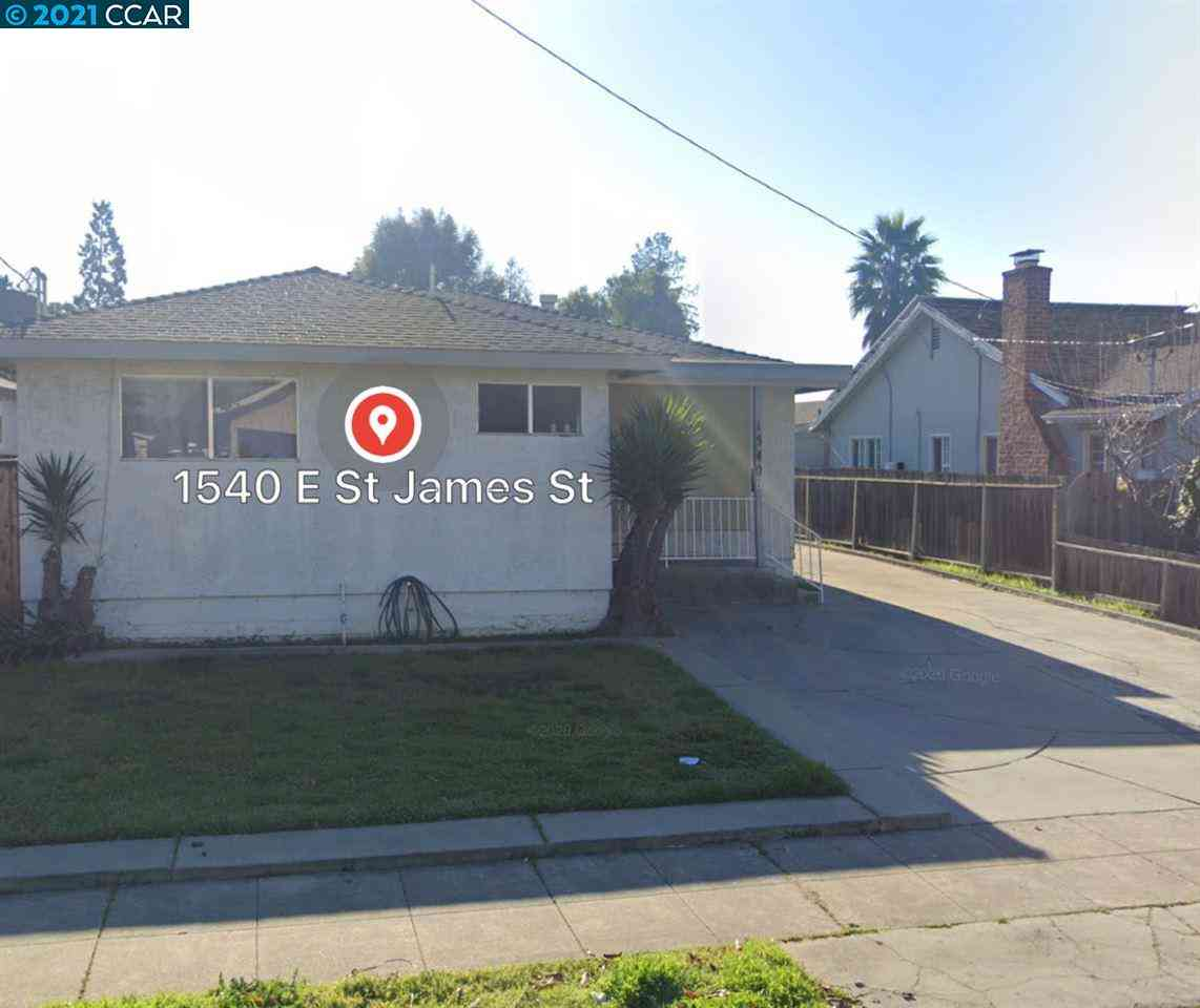 1540 East Saint James St, San Jose, CA, 95116,