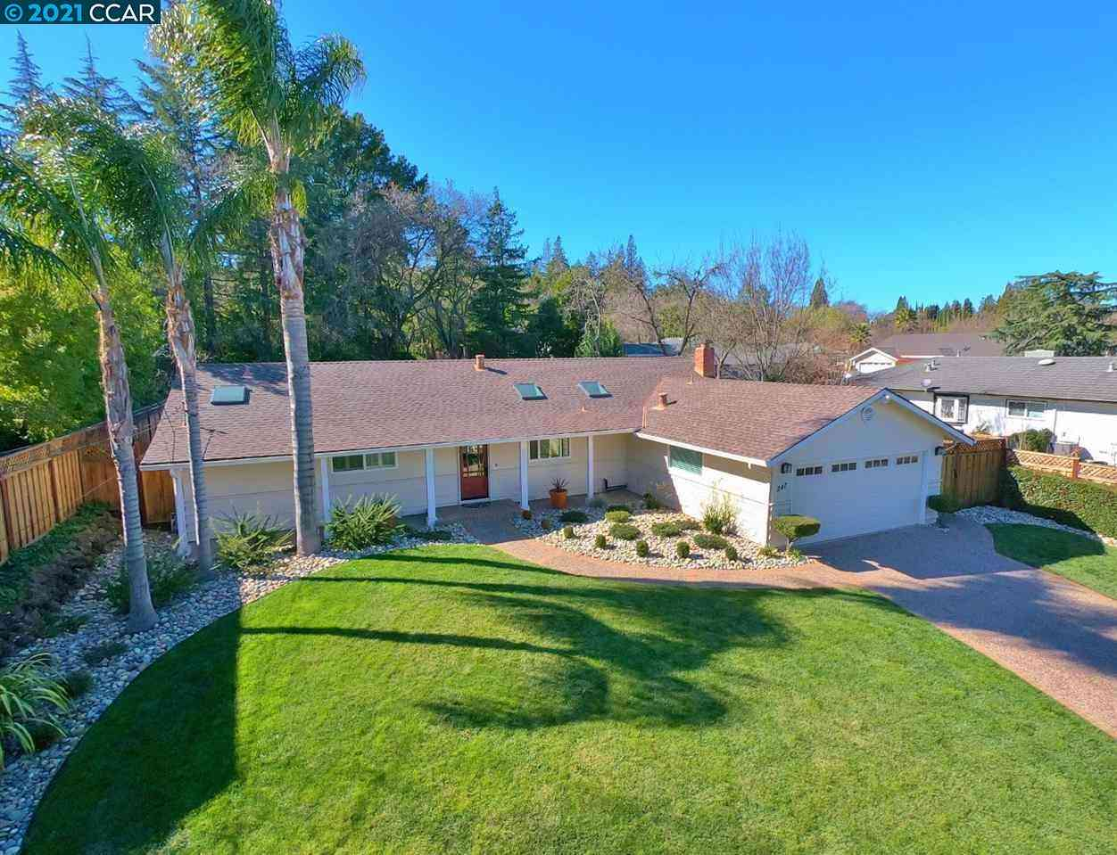 247 Valley Drive, Pleasant Hill, CA, 94523,