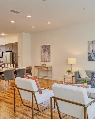 Sunny Living Room, 1308 Bernoulli Pl #5 San Jose, CA, 95132
