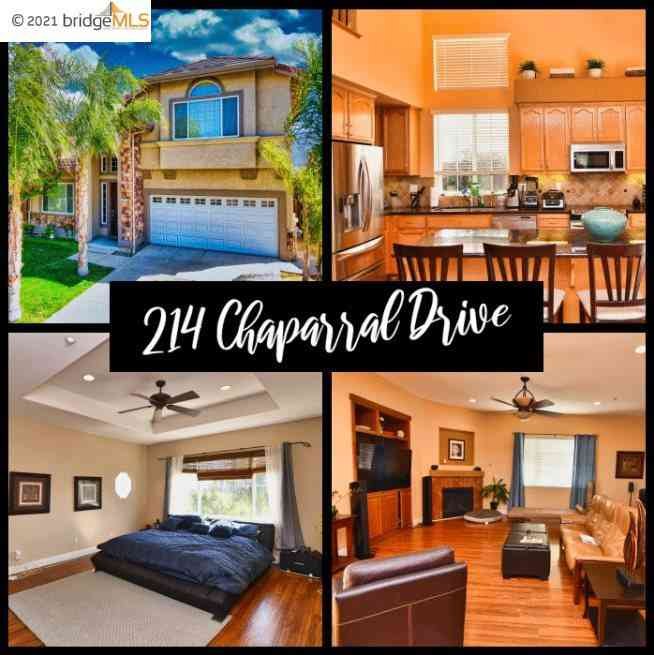 214 Chaparral Dr, Brentwood, CA, 94513,