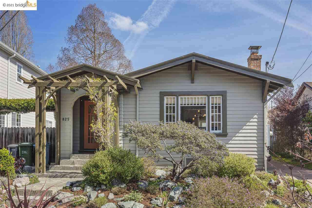 825 Peralta Ave, Berkeley, CA, 94707,
