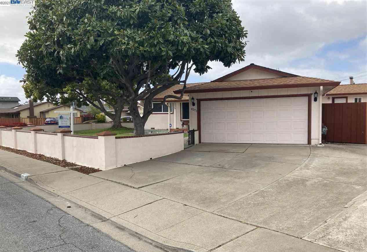 4271 Vincente St, Fremont, CA, 94536,