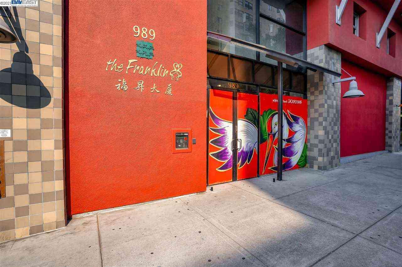 989 Franklin St #603, Oakland, CA, 94607,