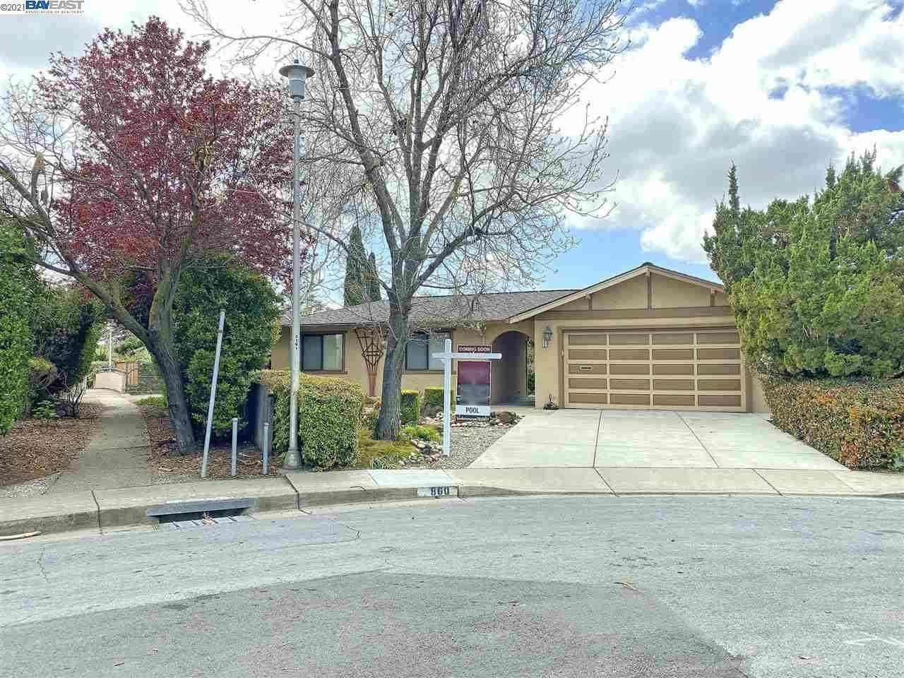 860 San Carlos Ct, Fremont, CA, 94539,