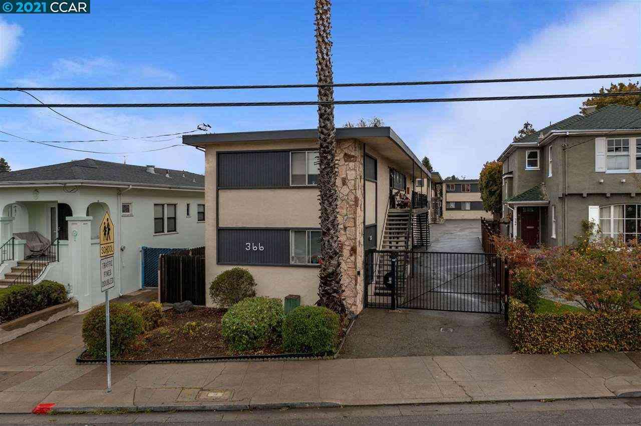 366 45Th St, Oakland, CA, 94609,