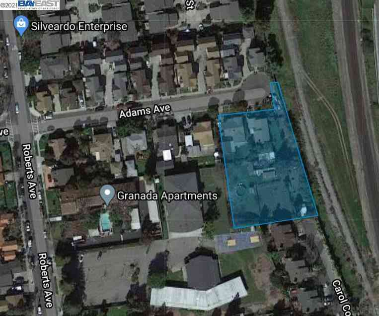 0 ADAMS AVE & HARRISON ST, Fremont, CA, 94538,