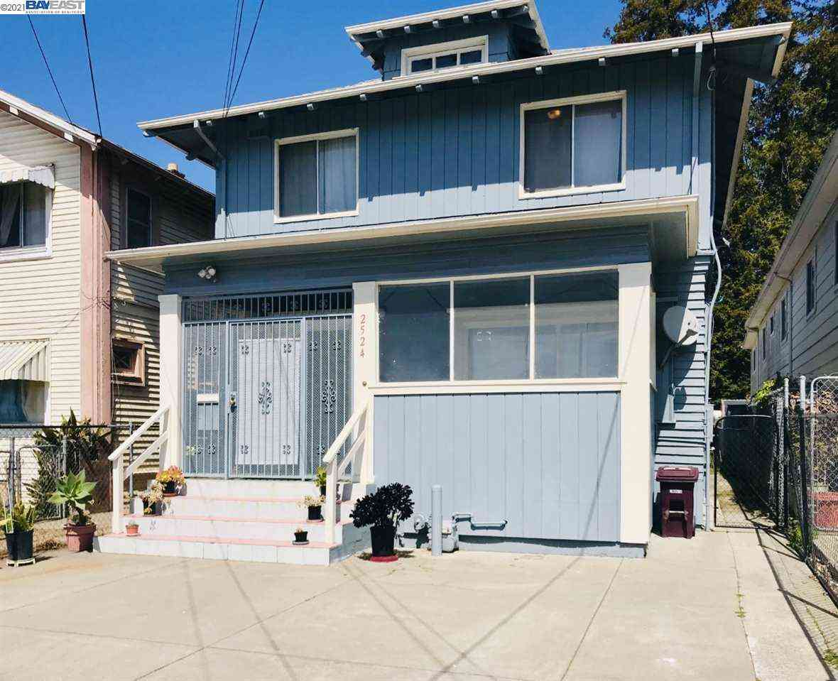2524 East 15Th St, Oakland, CA, 94601,