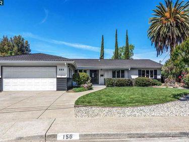 156 Warwick Dr, Walnut Creek, CA, 94598,