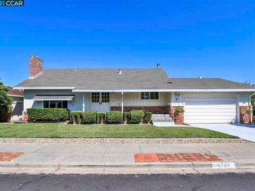 1707 Pepperwood Court, Concord, CA, 94521,