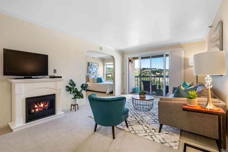 Living Room, 100 Thorndale Drive #352, San Rafael, CA, 94903,