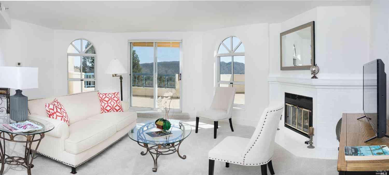 Sunny Living Room, 100 Thorndale Road #407, San Rafael, CA, 94903,