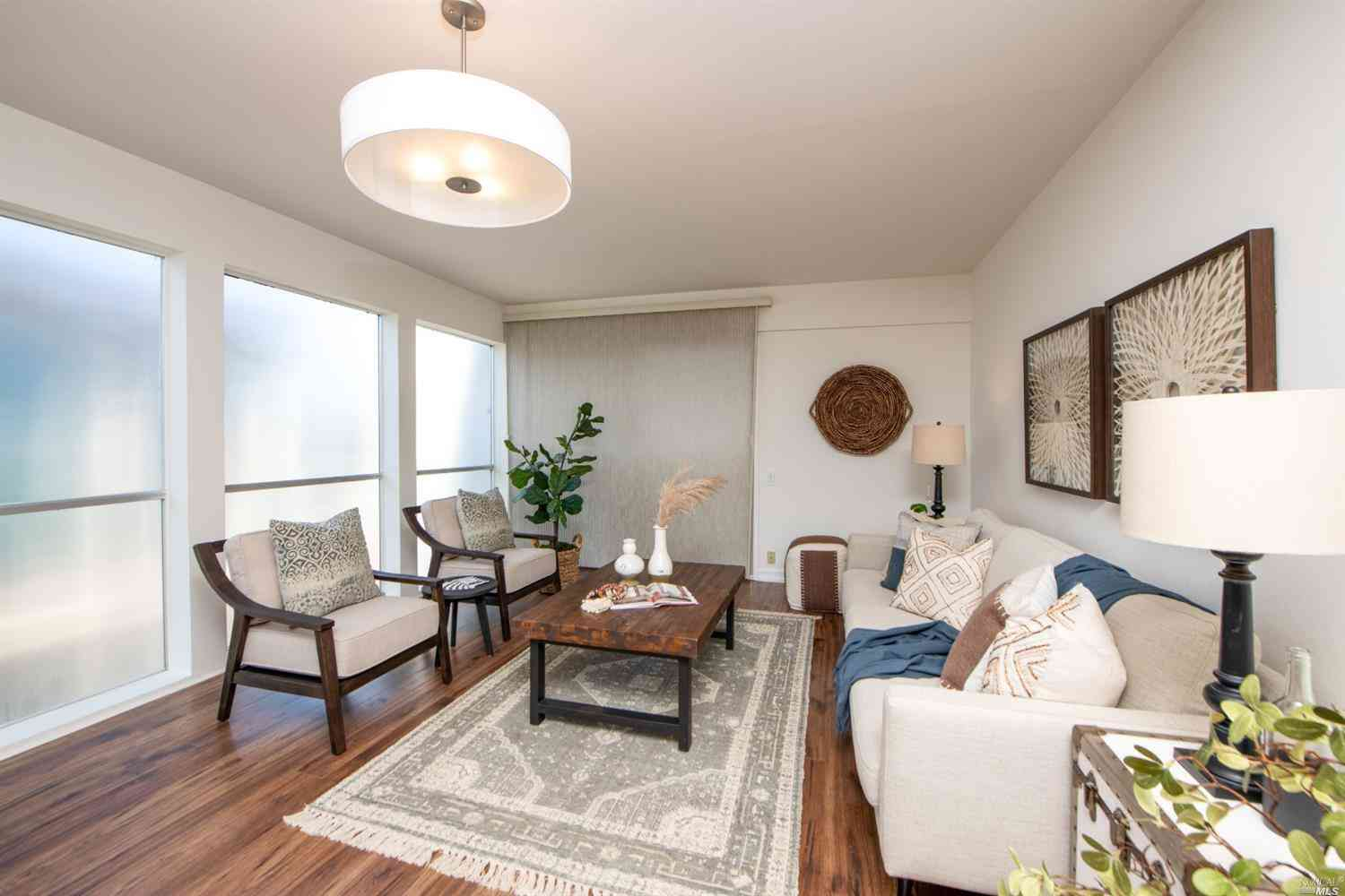 Sunny Living Room, 290 Via Casitas None #306, Greenbrae, CA, 94904,