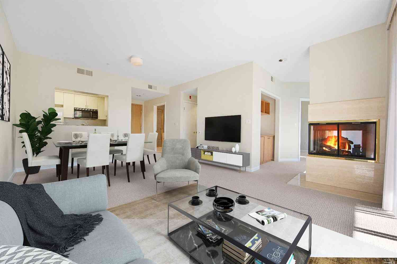 Sunny Living Room, 400 Deer Valley Road #4L, San Rafael, CA, 94903,