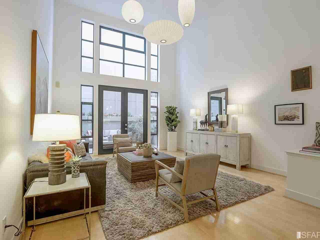 Living Room, 161 Gilbert Street #7 San Francisco, CA, 94103