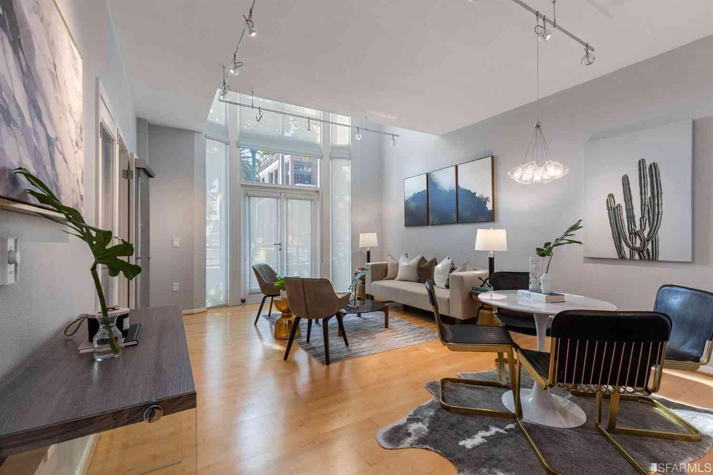 Sunny Living Room, 88 King Street #103, San Francisco, CA, 94107,