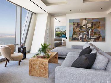 Sunny Living Room, 181 Fremont  #57A, San Francisco, CA, 94105,