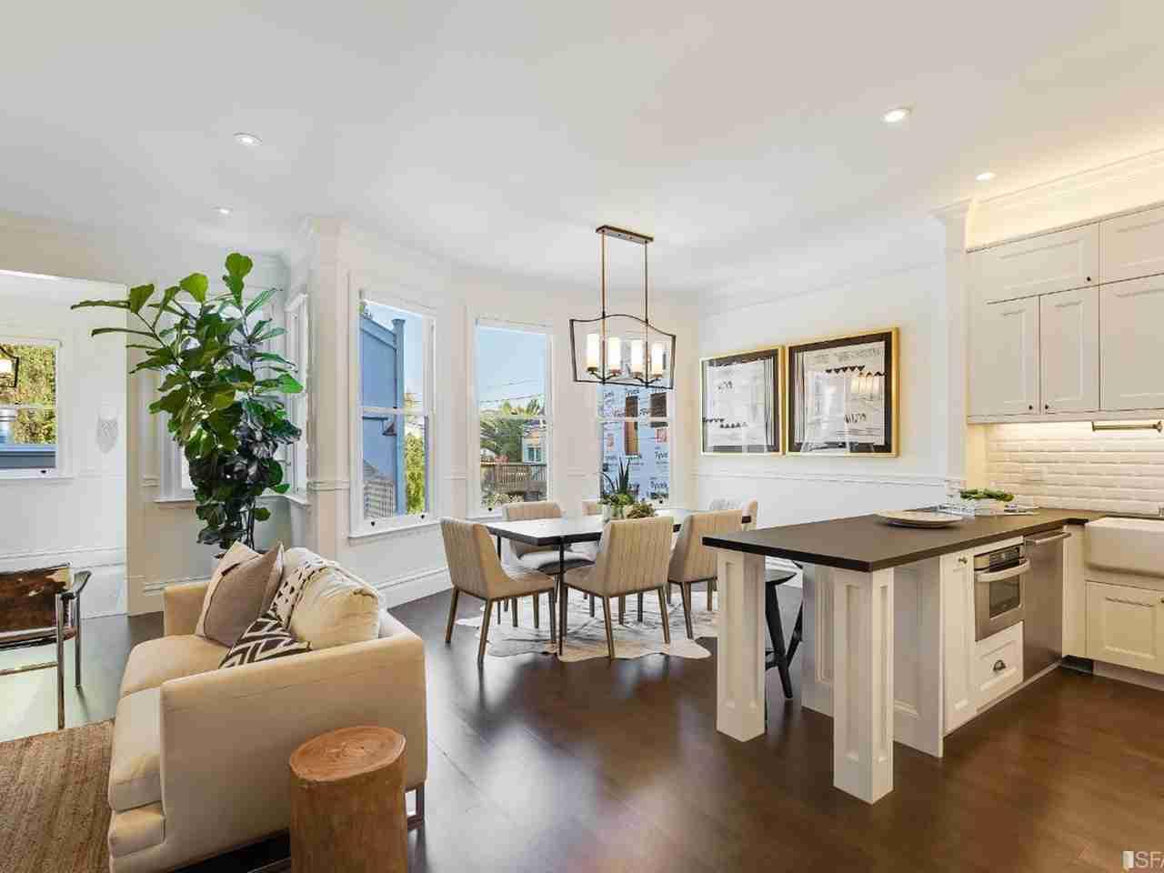 Sunny Living Room, 116 27th Street San Francisco, CA, 94110