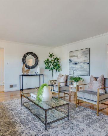 Sunny Living Room, 197 Elder Avenue Millbrae, CA, 94030