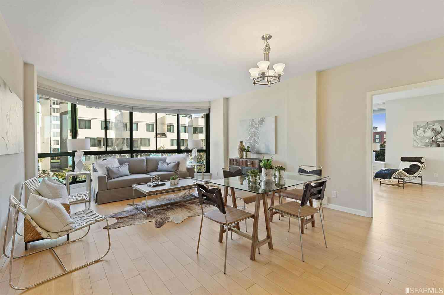 Sunny Living Room, 300 3rd Street #505, San Francisco, CA, 94107,