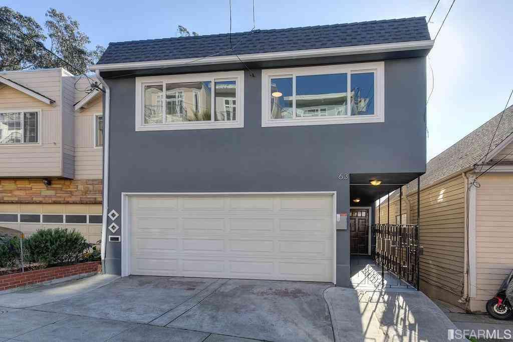 63 Minerva Street, San Francisco, CA, 94112,