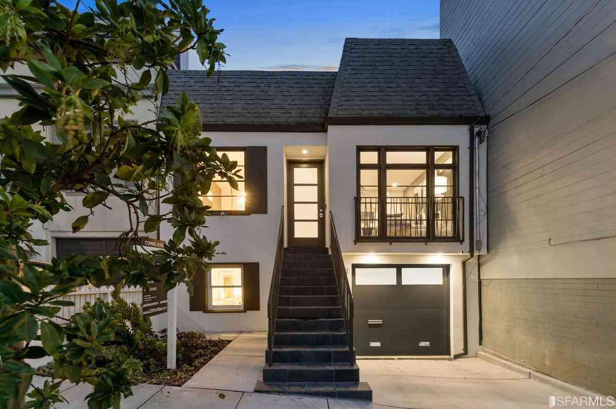 2531 McAllister Street, San Francisco, CA, 94118,