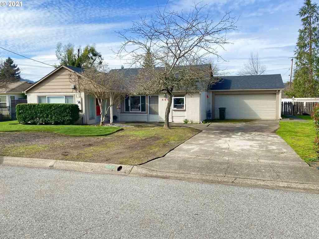 464 W SHENANDOAH, Roseburg, OR, 97471,