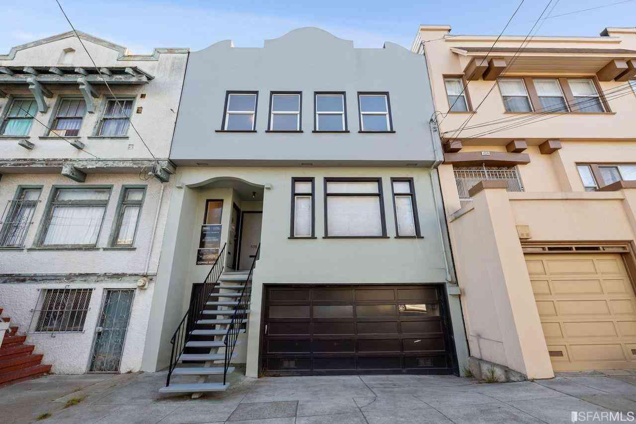 536 18th Avenue, San Francisco, CA, 94121,