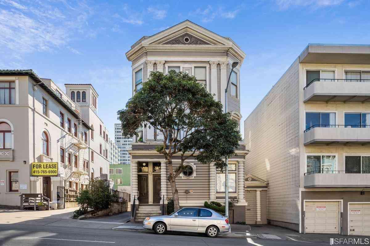 1843 Bush Street, San Francisco, CA, 94109,