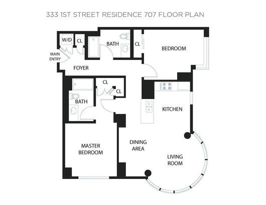 333 1st Street #707