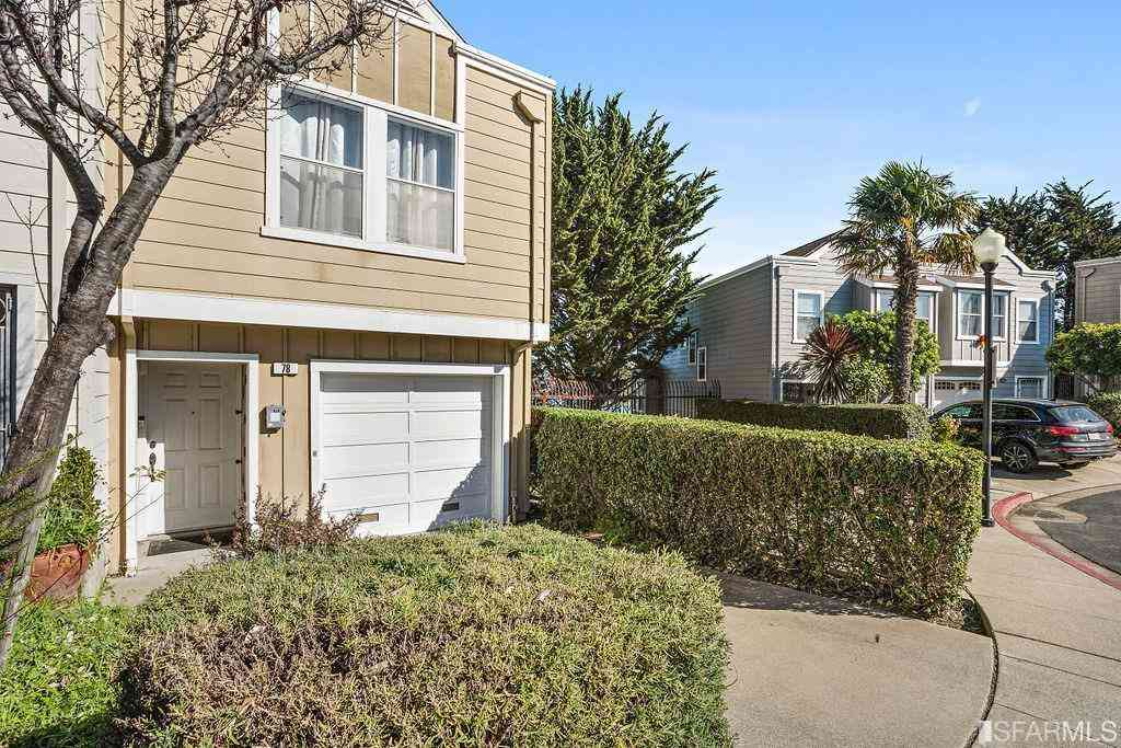 78 Garnett Terrace, San Francisco, CA, 94124,