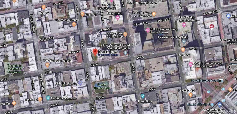 380 Ellis Street, San Francisco, CA, 94102,