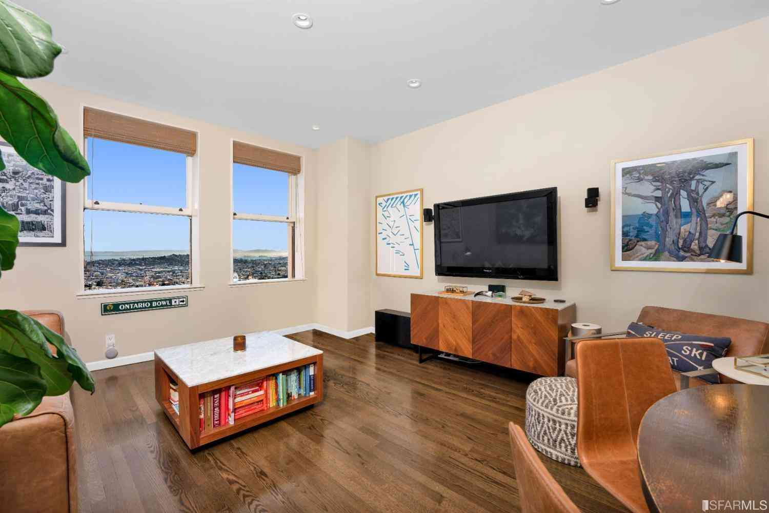 Sunny Living Room, 351 East Buena Vista Avenue #602, San Francisco, CA, 94117,