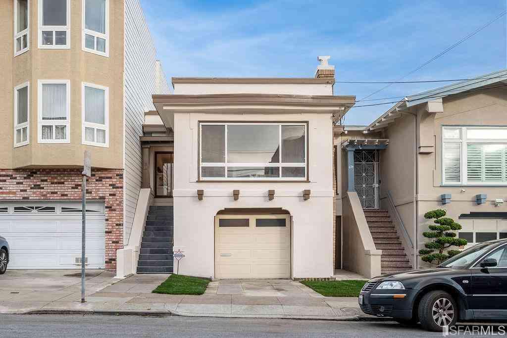670 22nd Avenue, San Francisco, CA, 94121,