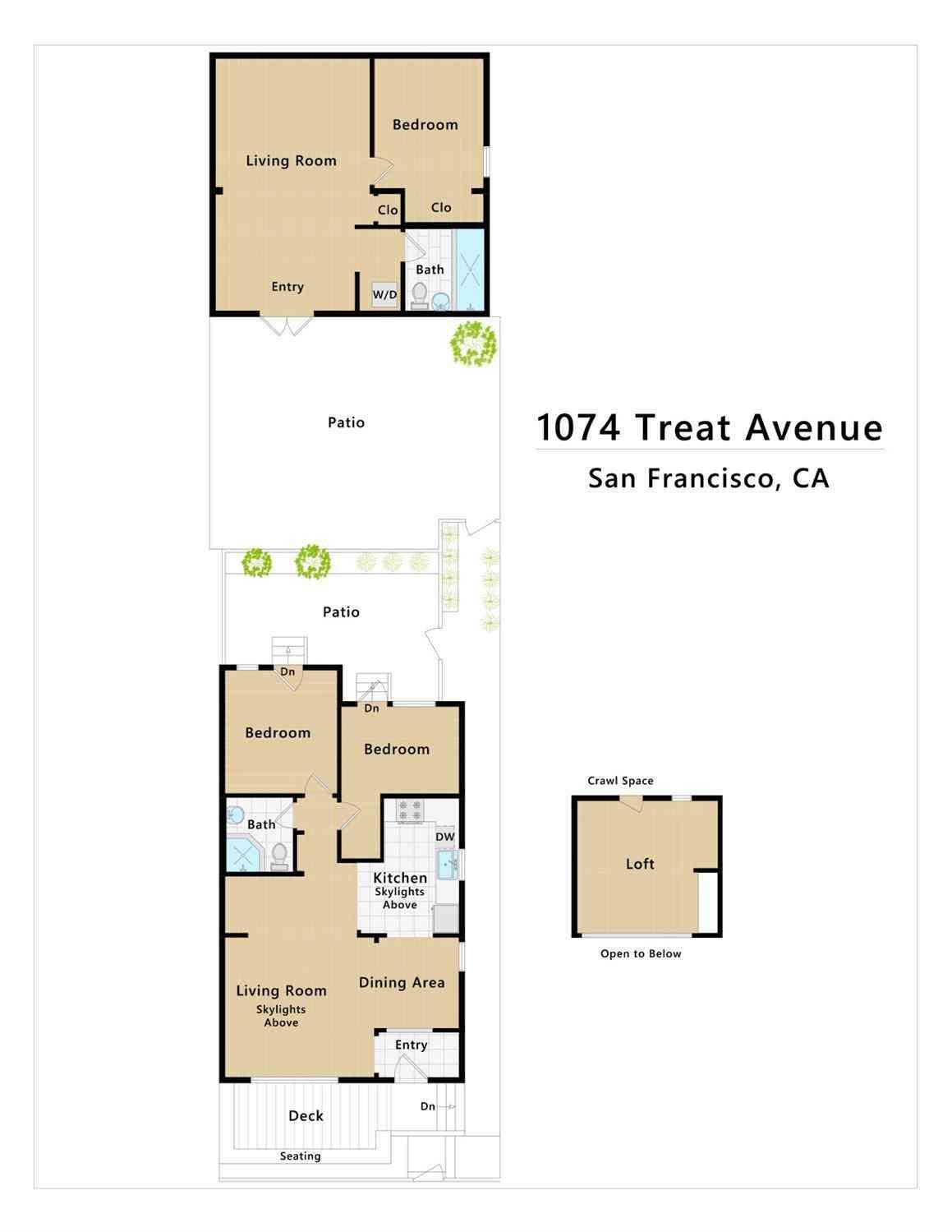 1074 Treat Avenue, San Francisco, CA, 94110,