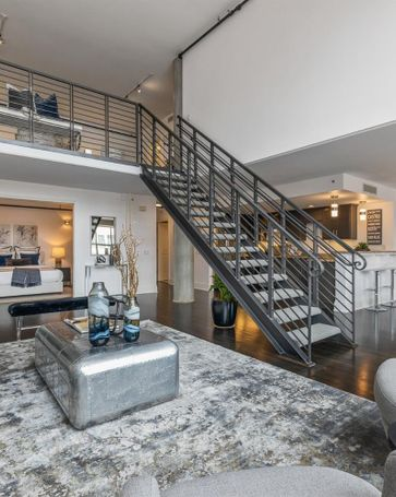 Sunny Living Room, 1 Bluxome Street #305 San Francisco, CA, 94107