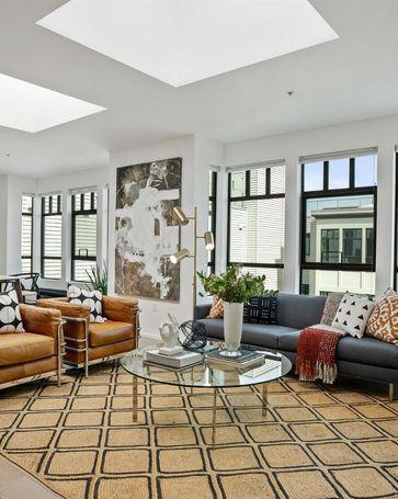 Sunny Living Room, 415 De Haro Street #405 San Francisco, CA, 94107