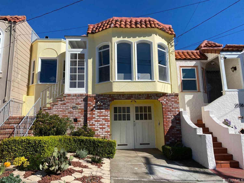 2554 33rd Avenue, San Francisco, CA, 94116,