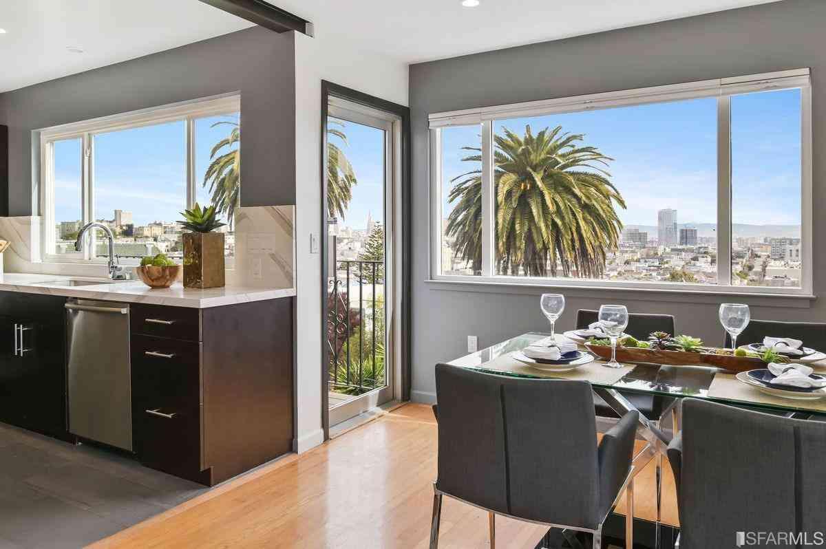 Sunny Living Room, 23 Castro Street, San Francisco, CA, 94114,