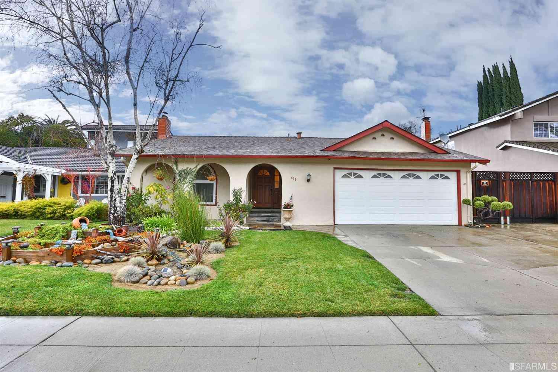 411 Fieldcrest Drive, San Jose, CA, 95123,
