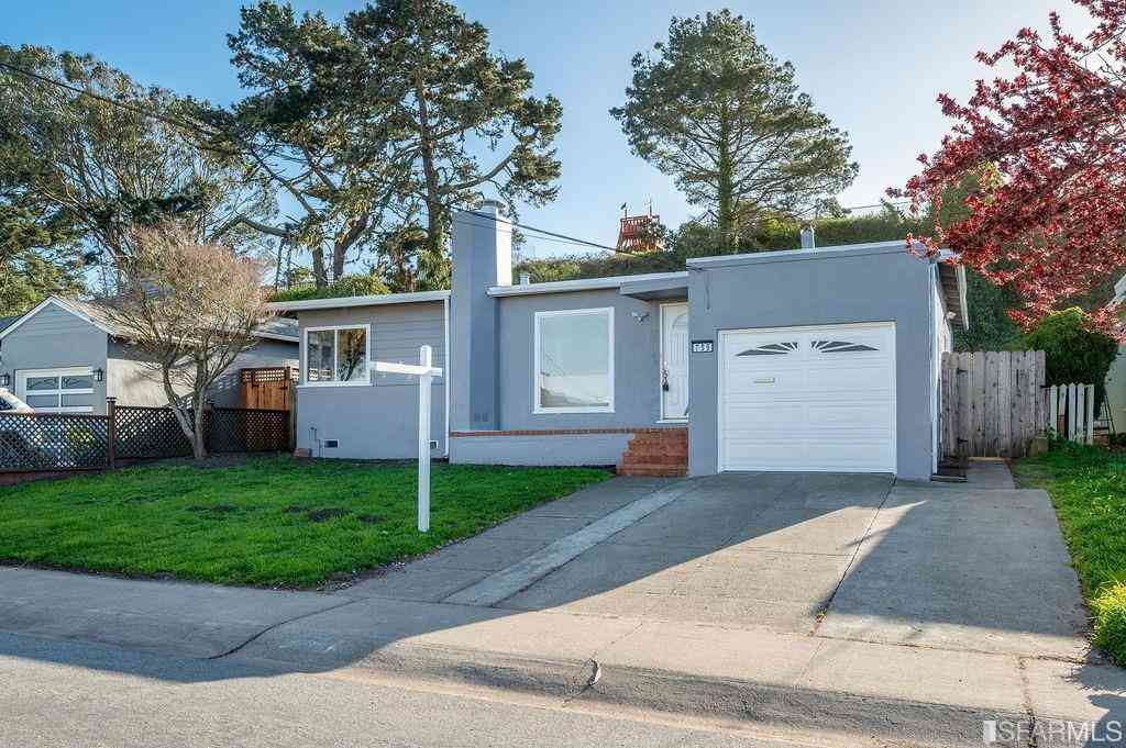 759 Thornhill Drive, Daly City, CA, 94015,